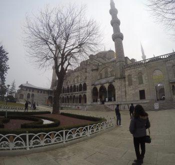 Sultanahmet en invierno