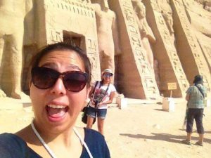 Abu Simbel, templo de la Reina Nefertari