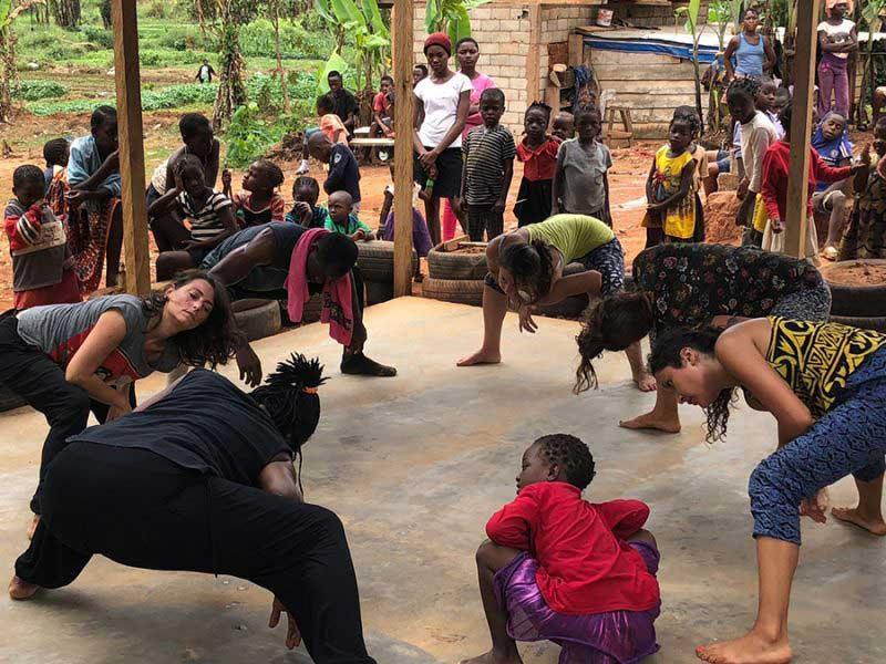 La liberación del espíritu: Danza Africana
